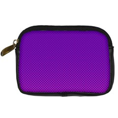 Halftone Background Pattern Purple Digital Camera Cases