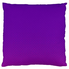 Halftone Background Pattern Purple Large Cushion Case (one Side)