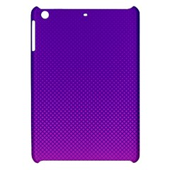 Halftone Background Pattern Purple Apple Ipad Mini Hardshell Case