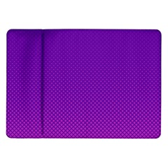 Halftone Background Pattern Purple Samsung Galaxy Tab 10 1  P7500 Flip Case