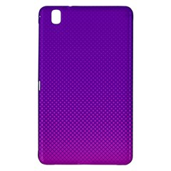 Halftone Background Pattern Purple Samsung Galaxy Tab Pro 8 4 Hardshell Case