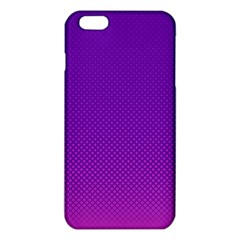 Halftone Background Pattern Purple Iphone 6 Plus/6s Plus Tpu Case