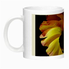 Ranunculus Yellow Orange Blossom Night Luminous Mugs