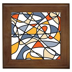Abstract Background Abstract Framed Tiles