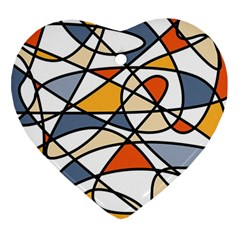 Abstract Background Abstract Ornament (heart)
