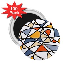 Abstract Background Abstract 2 25  Magnets (100 Pack)