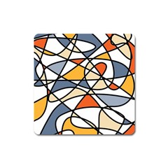 Abstract Background Abstract Square Magnet
