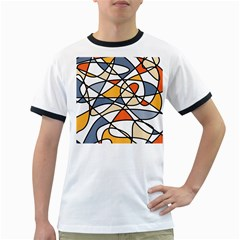 Abstract Background Abstract Ringer T Shirts