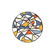 Abstract Background Abstract Hat Clip Ball Marker (10 Pack)