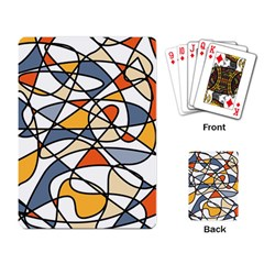 Abstract Background Abstract Playing Card