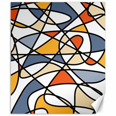 Abstract Background Abstract Canvas 20  X 24