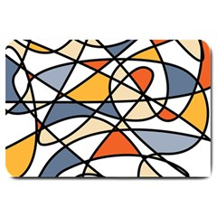Abstract Background Abstract Large Doormat