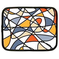 Abstract Background Abstract Netbook Case (large)