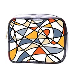 Abstract Background Abstract Mini Toiletries Bags