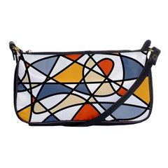 Abstract Background Abstract Shoulder Clutch Bags