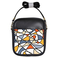 Abstract Background Abstract Girls Sling Bags