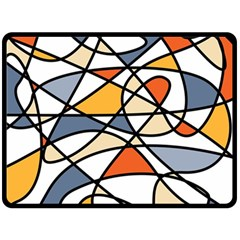 Abstract Background Abstract Fleece Blanket (large)