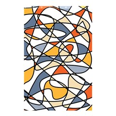 Abstract Background Abstract Shower Curtain 48  X 72  (small)