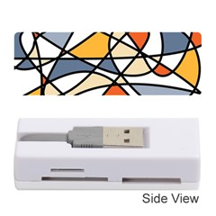 Abstract Background Abstract Memory Card Reader (stick)