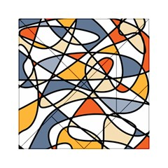 Abstract Background Abstract Acrylic Tangram Puzzle (6  X 6 )