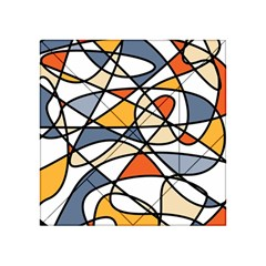Abstract Background Abstract Acrylic Tangram Puzzle (4  X 4 )