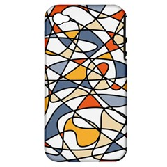 Abstract Background Abstract Apple Iphone 4/4s Hardshell Case (pc+silicone)