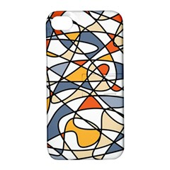 Abstract Background Abstract Apple Iphone 4/4s Hardshell Case With Stand