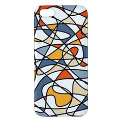 Abstract Background Abstract Apple Iphone 5 Premium Hardshell Case