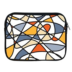 Abstract Background Abstract Apple Ipad 2/3/4 Zipper Cases