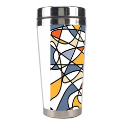 Abstract Background Abstract Stainless Steel Travel Tumblers