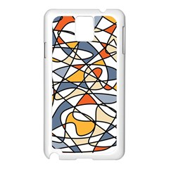 Abstract Background Abstract Samsung Galaxy Note 3 N9005 Case (white)