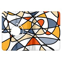 Abstract Background Abstract Kindle Fire Hdx Flip 360 Case