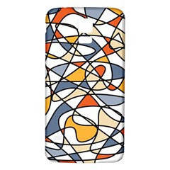 Abstract Background Abstract Samsung Galaxy S5 Back Case (white)