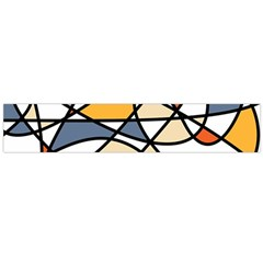 Abstract Background Abstract Flano Scarf (large)