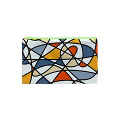 Abstract Background Abstract Cosmetic Bag (xs)