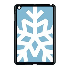 Snowflake Snow Flake White Winter Apple Ipad Mini Case (black)