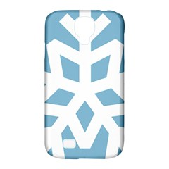 Snowflake Snow Flake White Winter Samsung Galaxy S4 Classic Hardshell Case (pc+silicone)