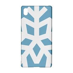 Snowflake Snow Flake White Winter Sony Xperia Z3+