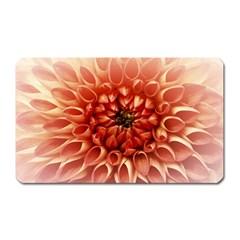 Dahlia Flower Joy Nature Luck Magnet (rectangular)