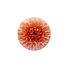 Dahlia Flower Joy Nature Luck Golf Ball Marker (10 Pack)