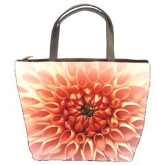 Dahlia Flower Joy Nature Luck Bucket Bags