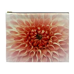 Dahlia Flower Joy Nature Luck Cosmetic Bag (xl)
