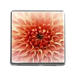 Dahlia Flower Joy Nature Luck Memory Card Reader (square)