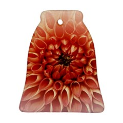 Dahlia Flower Joy Nature Luck Ornament (bell)