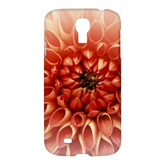 Dahlia Flower Joy Nature Luck Samsung Galaxy S4 I9500/i9505 Hardshell Case