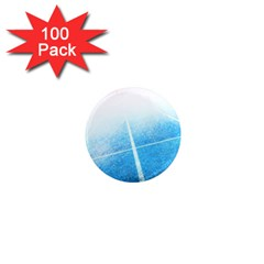 Court Sport Blue Red White 1  Mini Magnets (100 Pack)