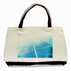 Court Sport Blue Red White Basic Tote Bag (two Sides)