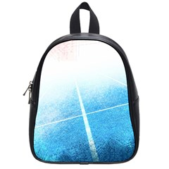 Court Sport Blue Red White School Bag (small)