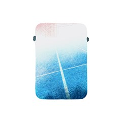 Court Sport Blue Red White Apple Ipad Mini Protective Soft Cases