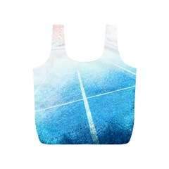 Court Sport Blue Red White Full Print Recycle Bags (s)